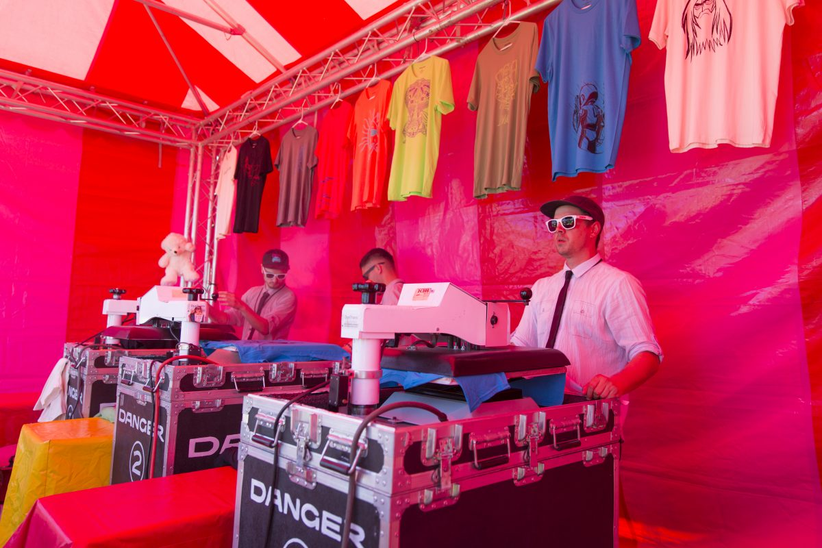 Danger Live Event Printing booth