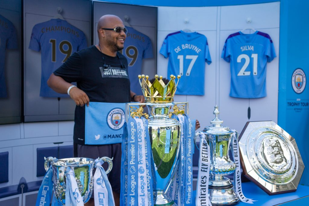 Manchester City Trophy Tour